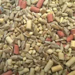 Sunflower hearts, Peanut Granules & Suet Pellets