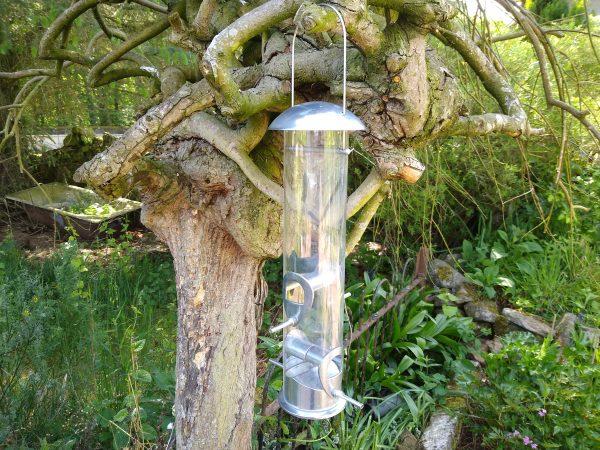 Bird Seed Feeder HD Aluminium